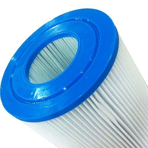 Tier1 Jacuzzi 42-2891-08, Pleatco PJ25, Filbur FC-1425, Unicel C-5625 Comparable Replacement Spa Filter Cartridge for Jacuzzi Spas (2-Pack)