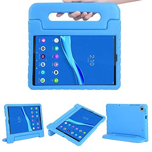 Kavon - Custodia protettiva per tablet Lenovo Tab M10 HD (2nd Gen) 10,1 2020 TB-X306F, in EVA, con supporto per manico convertibile a prova di urti, custodia per tablet leggero per bambini (blu)