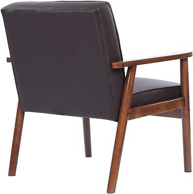 Amazon.com: eurway Conley brazo de silla | Negro: Kitchen ...