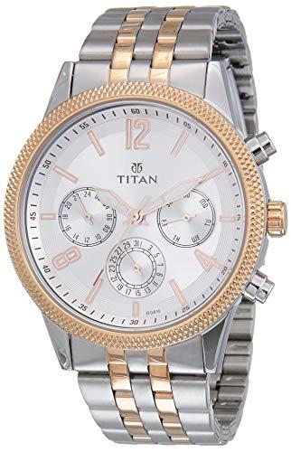 Titan Neo Analog Blue Dial Men's Watch