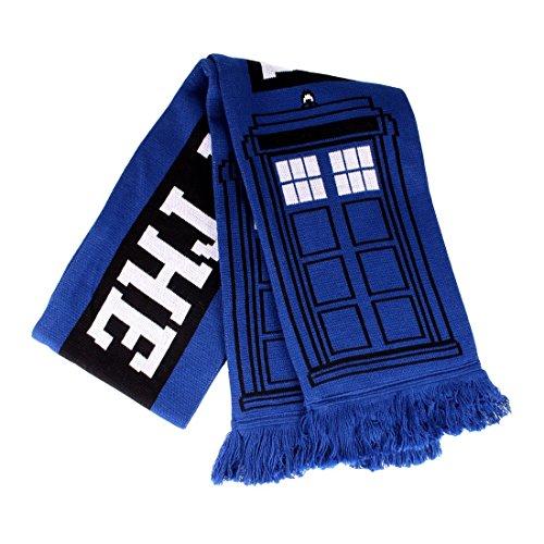Doctor Who Schal Tardis Police Box 150x19cm zur Serie blau