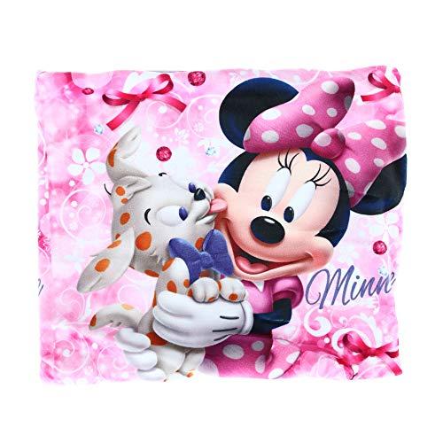 Sciarpa scaldacollo motivo Minnie (Disney) fodera viola