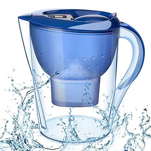 YAUUYA Wasserfilter Aktivkohle Wasserfilter Starterpaket Filterkartuschen Filter zur Reduzierung von Kalk, Chlor geschmacksstörenden Stoffen im Wasser 3.5L