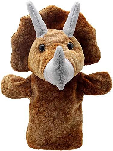 The Puppet Company Títeres Buddies Triceratops Marioneta de Mano, PC004637