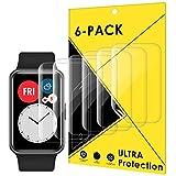CAVN Protector Pantalla compatible con Huawei Watch Fit/HONOR Watch ES, 6 Piezas cobertura completa...