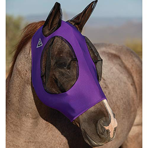 Professionals\' Choice ProfCoice Comfort Fit Fly Mask Fliegenmaske Purple L