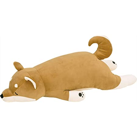 りぶはあと 抱き枕 プレミアムねむねむアニマルズ 柴犬のコタロウ Lサイズ(全長約73cm) ふわふわ もちもち 48768-44