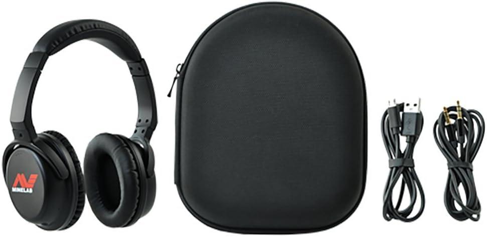 Minelab Ml 80 Wireless Headphones for Vanquish and Equinox Series Detectors, Black, 3011-0370