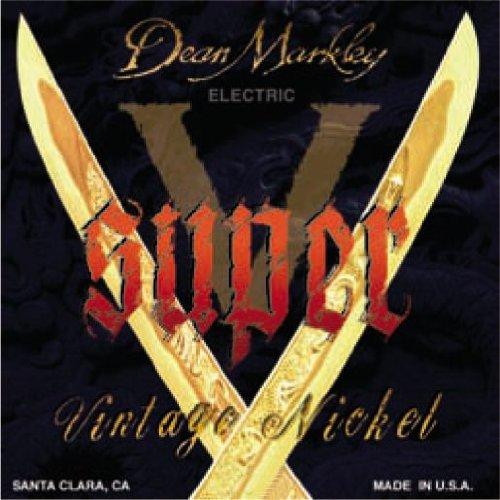 Dean Markley Super-V cuerdas de guitarra electrica 10-46
