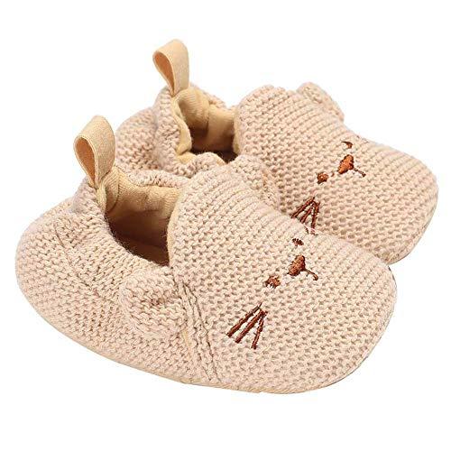 Demarkt suave bebé y niños pequeños Lauflernschuhe. 0 – 18 meses. Niñas y niños. beige 12 cm