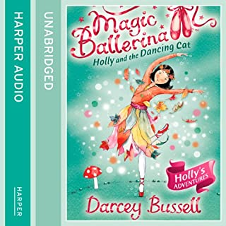 Magic Ballerina (13) - Holly and the Dancing Cat cover art