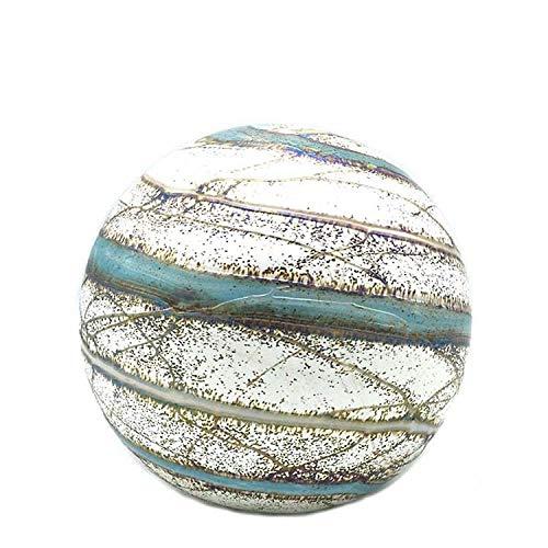 Urn Bol Nova 1,5L – Glazen Urn - Urn Glas - Mini urn - Urn voor as - Urn Glasobject - Urn Kunst - Gedenkstuk