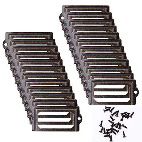 Marco etiqueta 24 piezas 70 * 33 mm Marco etiqueta