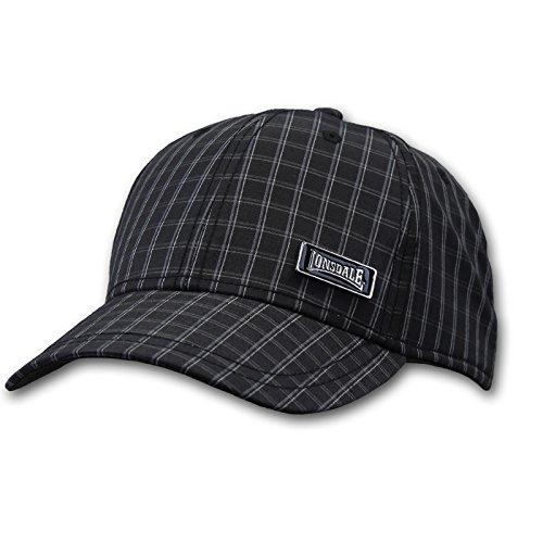 Lonsdale Herren Bond Cap Basecap, black