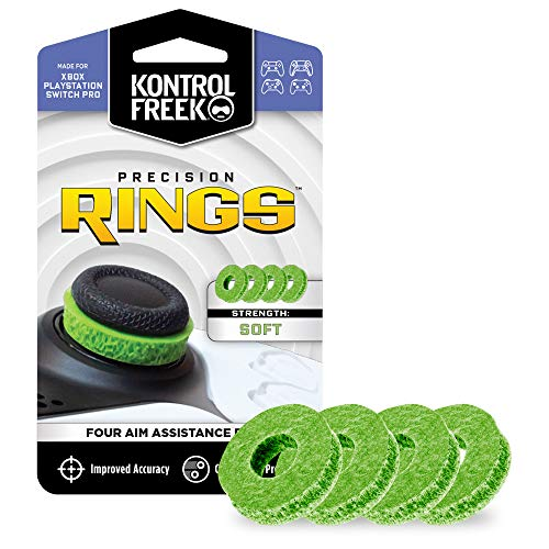 KontrolFreek Precision Rings   Aim Assist Motion Control para PlayStation 4 (PS4), PlayStation 5 (PS5) Xbox One, Xbox Series X, Switch Pro y Scuf Controller   Resistencia baja