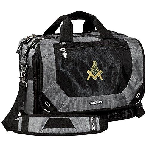 Masonic Ogio Corporate City Corp Messenger Bag Silver