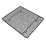 YYDZ Destaca la Torta del Metal refrigerada Galletas Pan tendedero Titular Enfriador de Hornear Herramientas Accesorios de Cocina (Color : Black)