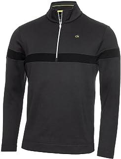 Calvin Klein Mens 2021 Scale CK Insul-Lite Performance 1/2 Zip Golf Sweater