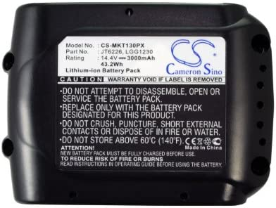 3000mAh Battery Replacement for 40% discount OFF Cheap Sale BFT082RZ BFS440RFE Makita TD132