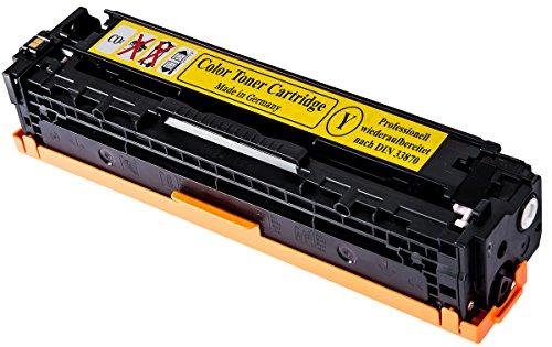 Toner Kompatibel zu HP Color LaserJet Pro CE 322A - 128A (GELB) HP CLJ CP1525, CP-1525n/nw, CM1415, CM-1415fn/fnw, CM1415, CM-1415MFP GELB