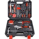 Arrinew General Household Hand Tools Kit 19 PCS Home Repair Tools Set Made