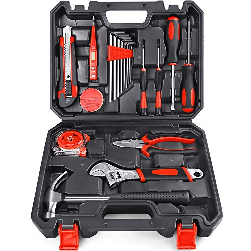 Arrinew 19pcs Household Tools Kit $19.99