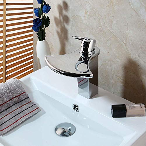 Best Prices! Kitchen Sink Taps Bathroom Sink Taps Bathroom Basin Mixer Taps Sink Faucet Hot & Cold W...