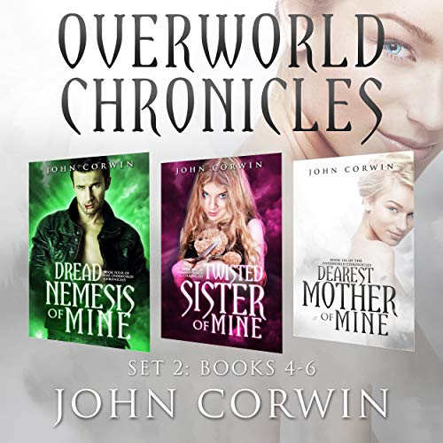 Page de couverture de Overworld Chronicles: Books 4-6