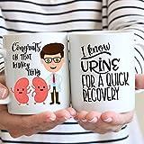 Max345Gall - Taza de café para cirugía de riñón, trasplante de riñón, cirugía de trasplante de riñón, cirugía de trasplante de riñón, obtén bienestar, regalo de boda