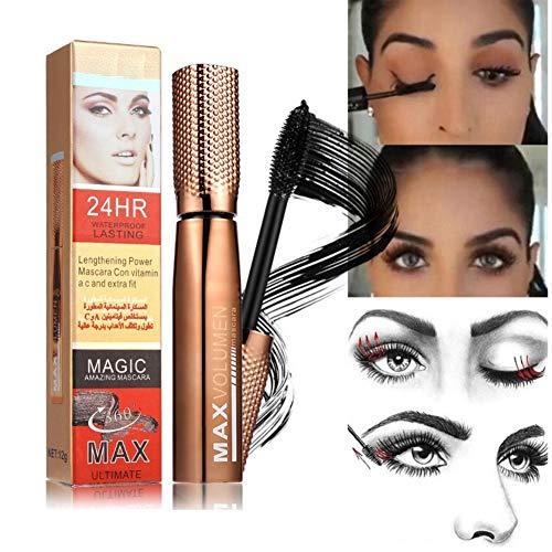 Yiitay 3D Long Mascara Effet Faux Cils Imperméable Etanche