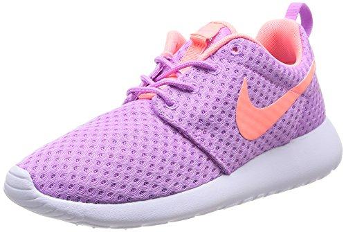 Nike Wmns Rosherun Br, Scarpe Sportive, Donna, Multicolore (Fuchsia Glow/Lava Glow-White), 38.5