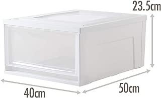 Storage Box Drawer Storage Box Wardrobe Plastic Storage Box Baby Clothes Storage Box Storage Box (Size : 405023.5cm)
