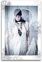 Premium textilduk 80 cm x 120 cm hög, vinterhemligheter | väggbild, bild på kil ram, färdig bild på äkta kanvas, tryck på ...