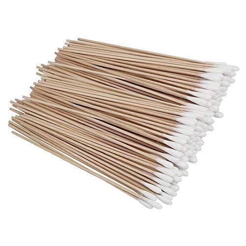 Lot de 100 cotons-tiges en bambou pour bébé adulte - 15 cm