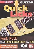 Quick Licks for Guitar: Nuno-Bettencourt Funk Rock [DVD] [Import]