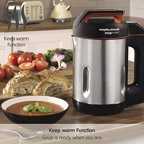 Morphy Richards 501022 Soup Maker with Keep Warm Function and Clean Mode