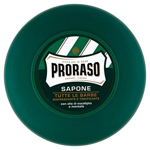 Proraso Rasierseife, Menthol und Eukalyptus, 75 ml