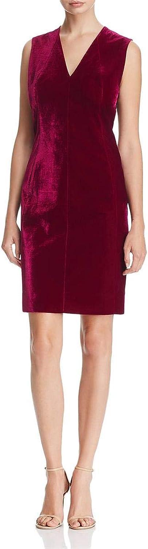Elie Tahari Womens Roanna Velvet KneeLength Party Dress