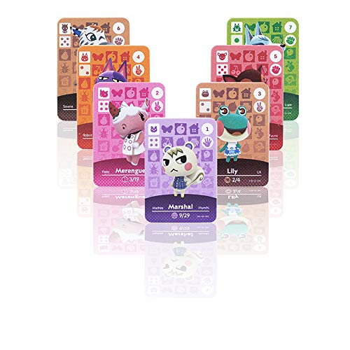 NFC Tag Cards for ACNH New Horizons Switch/Switch-72pcs