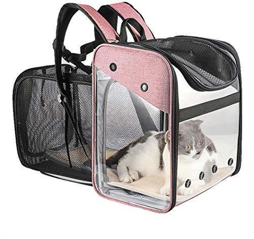 PETEMOO Portador de Viaje Mochila Bolsa de Transporte para Mascotas Perros Gatos...
