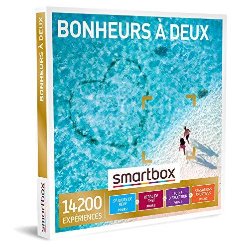SMARTBOX - Coffret Cadeau Couple - Idée cadeau original - Expérience à 2 inoubliables : Séjours, repas de chef, soins d'exception ou aventure