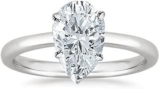 Best 2 carat pear diamond solitaire Reviews