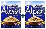 Weetabix Alpen Muesli sin azúcar 560 g, 2er Pack (2x560g)