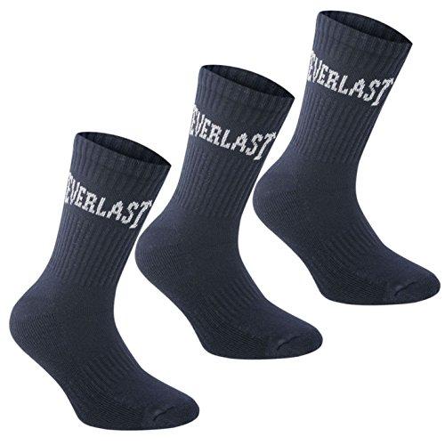 Everlast Damen 3 Paar Socken Marinefarbe Damen 36-42