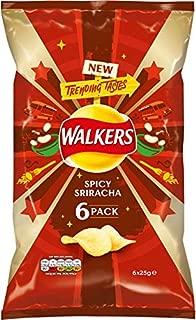 Walkers Crisps - Spicy Sriracha (6x25g)