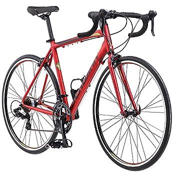 Schwinn Volare 1400 Adult Hybrid Road Bike 28-inch wheel aluminum frame Red