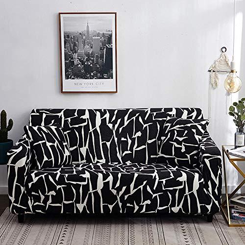 HXTSWGS Gruesa Protección de Muebles,1/2/3/4 Asientos Protector de Funda de Asiento de sofá de Licra elástica, Funda Lavable para Muebles, Fundas Todo Incluido-Color6_235-300cm_