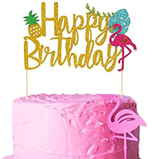 Best flamingo birthday cake topper Reviews
