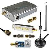 NESDR SMArt XTR HF-Bundle: Software-Definiertes 300Hz-2,3GHz Funkgerät für LF/HF/UHF/VHF. Enthält SMArt XTR RTL-SDR, Zusammengebauten Ham It Up Plus-Aufwärtswandler, 3 Antennen, Balun, und Adapter