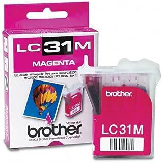 Brother Model LC31M Magenta Ink Cartridge